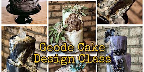Geode Cake Design Class - March 23 Evening tickets