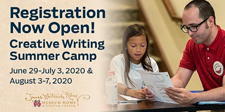 JWR Museum Home Creative Writing Summer Camp, June 29th-July 3rd tickets