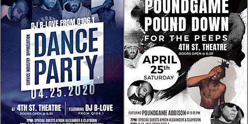 DJ B-Love Dance Party and the Poundgame Addison pounddown