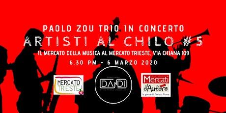 Artisti al chilo#5 - Il Mercato della Musica al Mercato Trieste di Via Chiana 109, Roma  tickets