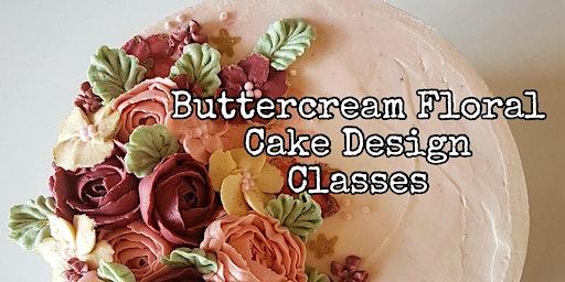 Buttercream Floral Cake Design - March 25 Evening