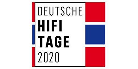 Deutsche HiFi Tage 2020 Tickets