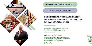 Seminario Provincial de Ceremonial y Organización de...