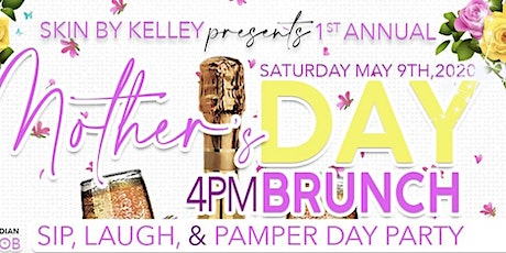 1st Annual Brunch,Sip, Laugh and Pamper  Day Party tickets