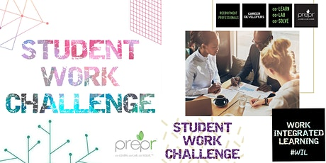 Student Work Challenge by Prepr - 2020 - {Virtual Event} tickets