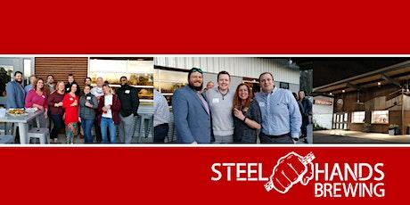 LLC Alumni: Steel Hands Brewing Social biglietti