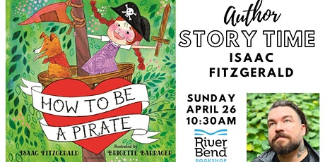 Author Story Time: Isaac Fitzgerald, How to be a Pirate tickets