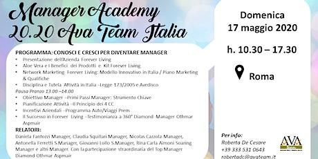 Manager Academy 20.20 Ava Team Italia biglietti
