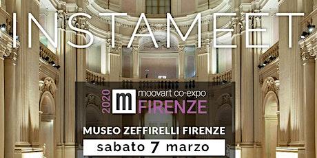INSTAMEET Biennale Moovart presso la Fondazione Franco Zeffirelli d Firenze tickets