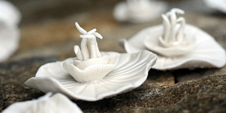 MASTERCLASS: MINIATURE BOTANICAL PORCELAIN SCULPTURE WITH KATHRYN PARSONS tickets