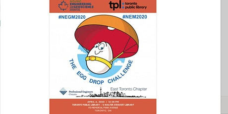 East Toronto National Engineering Month: The Egg Drop Challenge tickets
