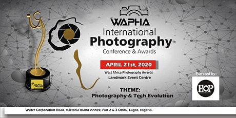 INTERNATIONAL PHOTOGRAPHY CONFERENCE & AWARDS tickets