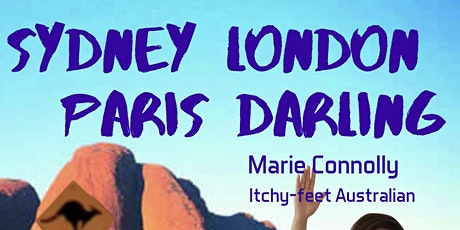 Stand-up Comedy in English.  Sydney London Paris Darling billets