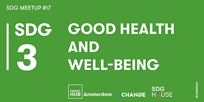 SDG Meetup #17 | SDG 3: Good Health and Well-Being