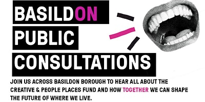 BasildON Creative People and  Places: Public Consultations