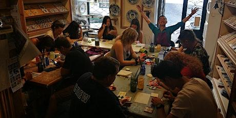 Tiles Workshop Lisbon - Create your memories of Portugal Tickets