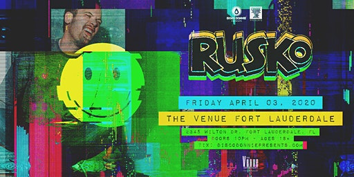 Rusko // The Venue Fort Lauderdale