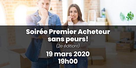 """""""Premiers Acheteurs, Sans Peurs!"""" (Soirée Informative, 2e édition!) tickets"""