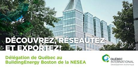 Délégation de Québec au BuildingEnergy Boston de la NESEA tickets