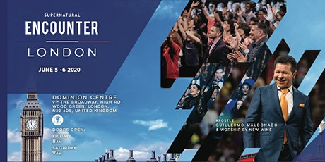 Supernatural Encounter London - Apostle Guillermo Maldonado tickets