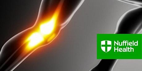 Knee Surgery - Mr Joel Melton Consultant Orthopaedic Surgeon tickets