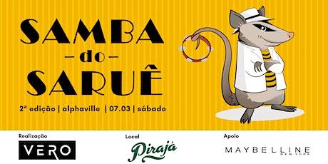 Samba do Saruê - 2ª Edição ingressos