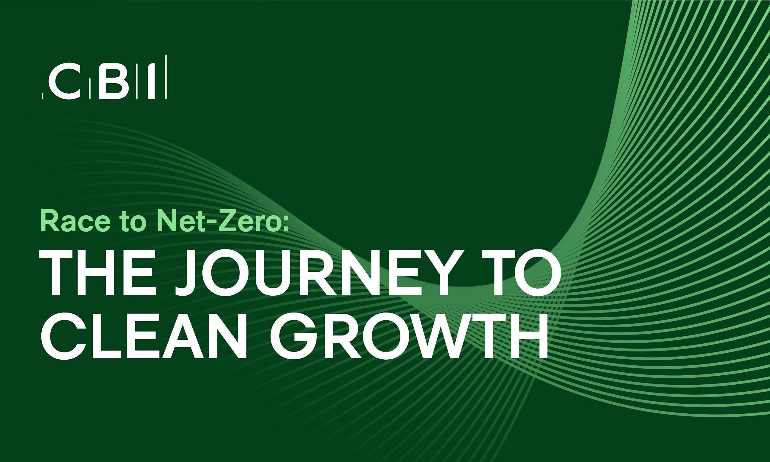 Race to Net-Zero: The Journey to Clean Growth
