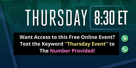 Thursdays  - Business Opportunity Online Meeting (Anyone Welcomed) tickets