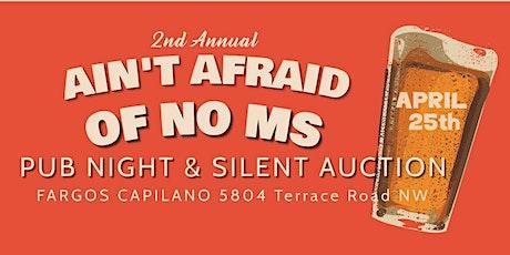 2020  Ain't Afraid of No MS - Pub night  tickets