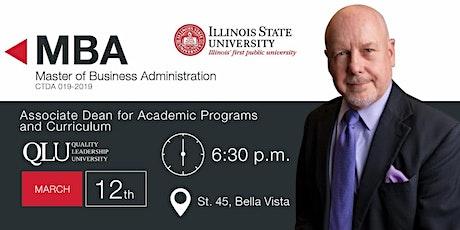 Reunión Informativa - MBA de Illinois State University entradas