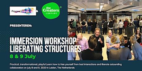 Liberating Structures immersion workshop, Leiden 526 - 699 € + VAT tickets