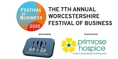 Worcestershire Festival of Business 2020 BREAKFAST NETWORKING tickets