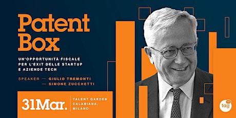Patent Box: un'opportunità fiscale per l'exit delle startup e aziende tech biglietti