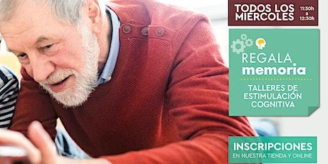 Talleres de Estimulación Cognitiva para personas mayores - Valencia entradas