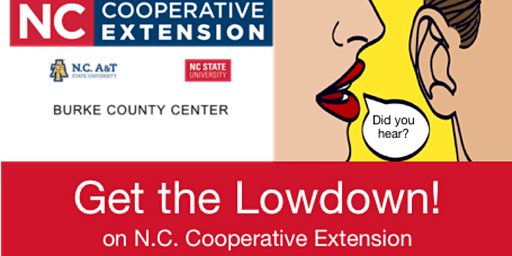 Get the Lowdown! on N.C. Cooperative Extension