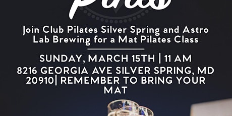 Pints and Pilates with Astro Lab Brewing tickets