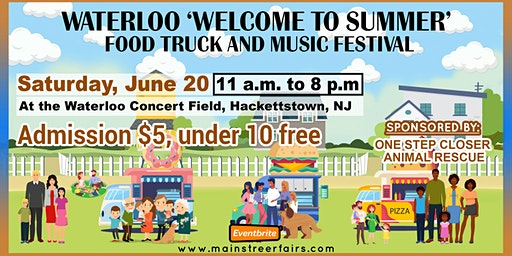 Waterloo 'Welcome to Summer' Food Truck and Music Festival