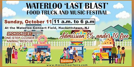 Waterloo 'Last Blast' Food Truck and Music Festival