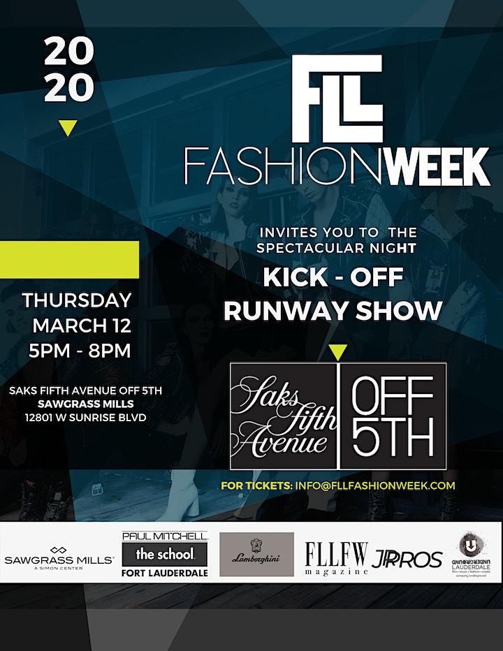 FLL Fashion Week Opening Night SAKS FIFTH AVENUE image