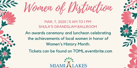 Women of Distinction Awards Luncheon  tickets