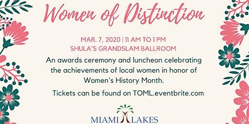 Women of Distinction Awards Luncheon