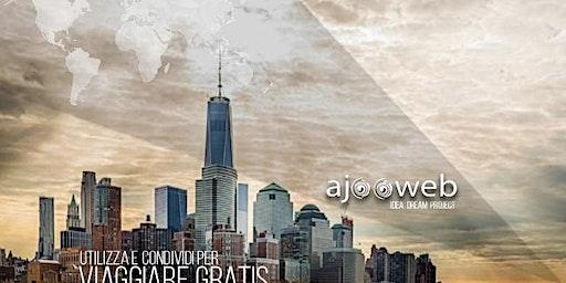 Viaggia gratis con Ajooweb!