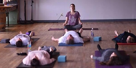 Find Your Balance at Counterweight Brewing (yoga then beer!) on March 21st! tickets