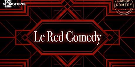 Le Red Comedy Saison 2 Episode 25 billets