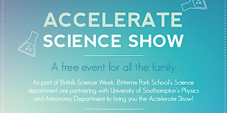 Accelerate Science Show tickets