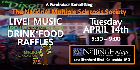 4th Annual Spring into a Cure For MS Fundraiser tickets