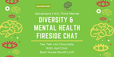 CANCELLED Diversity & Mental Health Fireside Chat tickets