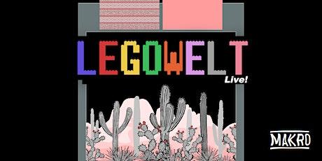 MAKRO w/ Legowelt Live + Pangaea Tickets