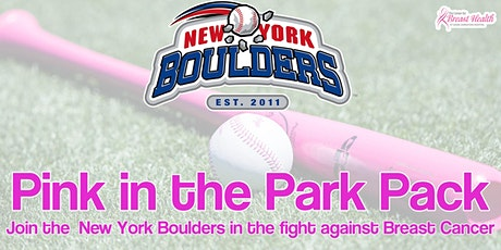 New York Boulders Pink in the Park Pack tickets