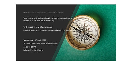 BA Applied Social Science (Community and Addiction Studies) tickets